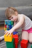 leka toys för barn Fotografering för Bildbyråer