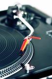 Leka vinylregister för Turntable Fotografering för Bildbyråer