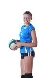 leka volleyboll för gir arkivfoton