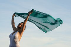 leka wind Arkivbilder