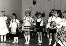 Lekar för barn` s i ussren Royaltyfri Fotografi