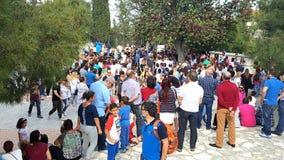Lekara ένα παραδοσιακό παλαιό χωριό στη Κύπρο, ένας δημοφιλής προορισμός ταξιδιού των εκατομμυρίων των τουριστών από όλο τον κόσμ στοκ φωτογραφία με δικαίωμα ελεύθερης χρήσης