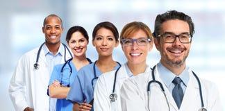 Lekarek i pielęgniarek grupa Obraz Stock