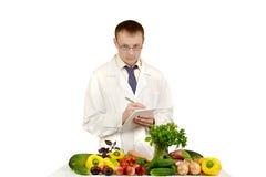 Lekarek prowadzeń rejestr warzywa Obrazy Stock