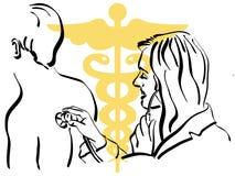 lekarka royalty ilustracja
