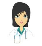 Lekarka. ilustracji