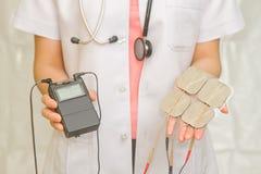 Lekarka chwyta dziesięć Medyczna jednostka Obraz Royalty Free