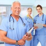 Lekarka i pielęgniarka zdjęcia royalty free
