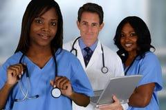 Lekarka i pielęgniarki fotografia stock