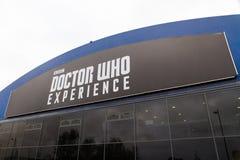 Lekarka Który Doświadcza, Cardiff artykuł wstępny zdjęcia royalty free