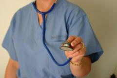 Lekarka lub pielęgniarka zdjęcia royalty free