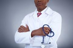 Lekarka z stetoskopem Obraz Stock