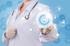 Lekarka zapewnia pomoc Obraz Stock