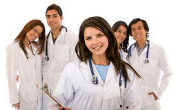 lekarki grupa Obrazy Royalty Free