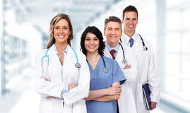 Lekarki grupa zdjęcia stock