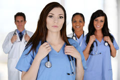 Lekarki i pielęgniarka Zdjęcia Royalty Free