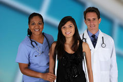 Lekarki i pielęgniarka Obraz Royalty Free