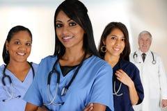 Lekarki i pielęgniarka Fotografia Royalty Free