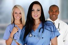 Lekarki i pielęgniarka Obrazy Stock