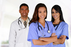 Lekarki i Pielęgniarka Obraz Stock