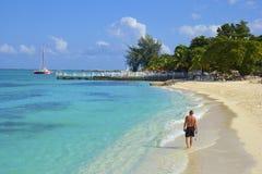 Lekarki zatoczki zatoka, Montego Bay, Jamajka Obraz Royalty Free