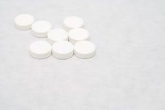 lekarstwa białych obrazy stock