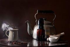 lekarstwa eliksirów naturalne herbaty zdjęcia stock