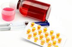lekarstwa kilka Fotografia Stock