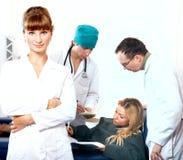 lekarze Obrazy Stock