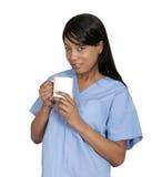 lekarze pić kawy Zdjęcia Stock
