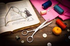 Lekcje dressmaking Obrazy Stock