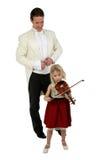lekcje muzyki Zdjęcia Royalty Free