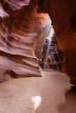 Lekcy dyszle lub promień antylopy jar Arizona Fotografia Royalty Free