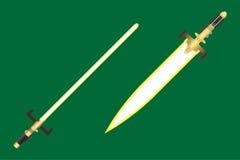 lekcy sabers Zdjęcia Royalty Free