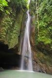 Leke Leke Waterfall in Bali.  stock photography