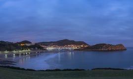 Lekeitio на зоре Стоковые Изображения RF