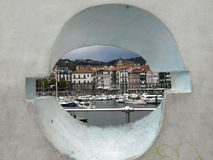 Lekeitio. Harbor in the vasque country in spain Stock Photo