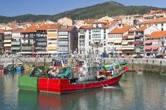 Lekeitio, Espagne Photographie stock libre de droits