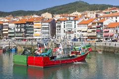 Lekeitio, Spain. Seaport of Lekeitio, Basque country, Spain Royalty Free Stock Photography