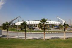 Lekhwiya sportów stadium w Doha Fotografia Stock
