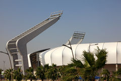 Lekhwiya Sports Stadium in Doha Royalty Free Stock Images