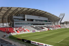 Lekhwiya Sports Stadium in Doha Royalty Free Stock Photography