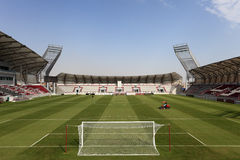 Lekhwiya Sports Stadium in Doha Stock Image