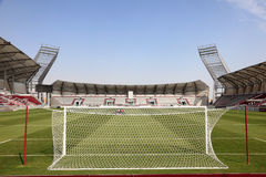 Lekhwiya Sports Stadium in Doha Stock Photos