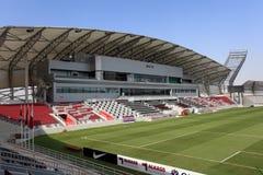 Lekhwiya sportstadion i Doha Royaltyfri Fotografi