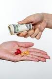 Leki i przestępstwo obraz stock