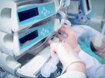 Leki w ICU Zdjęcia Stock