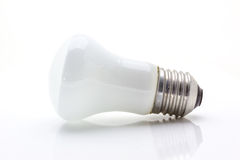 Lekka lampa na bielu Zdjęcie Stock