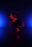 Lekka obraz fotografia Freezelight fotografii tancerze Zdjęcie Stock