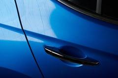 Lekka samochodowa farby szkoda obraz stock